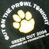 Front of the LISD Foundation Green Out shirt.LNJ Photo