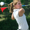 Chloe Mims ,18, participates in the ReMax Long Drive at Alpine golf course Saturday,  July 31, 2004 Ricardo B. Brazziell