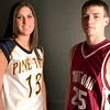 Left to Right Erin Pope and Chase Pullen. March 31,2004. Ricardo B. Brazziell