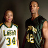 left to right ,Whitney Brooks and Raymond Hicks. March 31,2004. Ricardo B. Brazziell