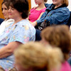Patti Kennemer, right, sits with her arm around her fifteen year old daughter Kara Kennemer, left,  during a session of His Girls Monday,  November 29, 2004 at Macedonia Baptist Church in Longview. Kevin Green