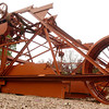 """The 1922 R. G. LeTourneau """"Mountain Mover"""" Monday November 29, 2004, at the university in Longview. Kevin Green"""