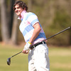 Pine Tree's Noah trammel watches his shot off the #6 hole during a golf tourney Monday February 28, 2005 at Pinecrest Country Club in Longview. Kevin Green