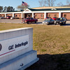 One of the two GE Interlogic buildings in Gladeater Monday February 28, 2005. Kevin Green