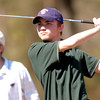 Longview's Hudson Johnson tees off the  #6 hole during a golf tourney Monday February 28, 2005 at Pinecrest Country Club in Longview. Kevin Green