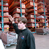 Trey Smith, son of Ivan Smith owner of Ivan Smith Furniture talks about the newly constructed warehouse Monday January 31, 2005 in Shreveport. Kevin Green