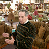 Ivan Smith, owner of Ivan Smith Furniture talks about his different lines of furniture in one of his showrooms Monday January 31, 2005 in Shreveport. Kevin Green