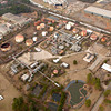 An aerial of the gas refinery along Premier Road in Longview. Kevin Green