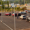New vehicles make there way into the new Peters Chevrolet facility on north US 259 Friday, May 27, 2005 in Longview. The dealership will open Tuesday. (Kevin Green/News-Journal Photo)
