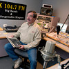 Chuck Conrad sits in the control room of KZQX Wednesday, November 30, 2005  in Chalk Hill. (Kevin Green/News-Journal Photo)