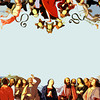 """Homage to Pietro Perugino's """"The Ascension of Christ"""" (Les Hassell/News-Journal Illustration)"""
