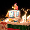 """The City of Longview's """"Toyland"""" float makes its way through the Christmas parade in downtown Longview on Friday, December 1, 2006. (Luisa Morenilla/News-Journal Photo)"""