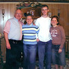 Cynthia Koontz with her husband and children days before her husband's suddent death in January of 2004.   (Luisa Morenilla/News-Journal Photo)