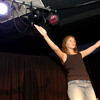 "Jori Sutton performs during a rehearsal of ""Reaching for the Stars!"" at the Arts View Children's Theatre Tuesday, July 18, 2006.  The theater will present the production, which is a collage of works created by Arts View Theatre Academy students, on July 21 and 22.  (Luisa Morenilla/Longview News-Journal)"
