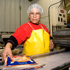 Micaela Guzman works at La Fama foods in Longview, on Thursday, February 1, 2007. (Luisa Morenilla/Longview News-Journal)
