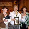 Spelling bee winners Shirley Williams, Kay Ray and Christy Triece from UT Tyler Longview University Center.