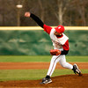 Kilgore High School's Logan Chitwood pitches during the team's game against the Longview Lobos, part of the Oil Belt Classic baseball tournament at Driller Park, on Friday, March 2, 2007.(Luisa Morenilla/Longview News-Journal)