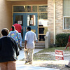 Longview residents make their way to vote Tuesday, November 4, 2008 at G.K. Foster Montessori Magnet School in Longview. (Kevin Green/News-Journal Photo)