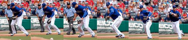 Texas Ranger Chris Davis Day at the Rangers Ballpark at Arlington Sunday, September 21, 2008.  (Kevin Green/News-Journal Photo)