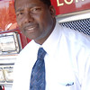 Longview Fire Department Fire Chief Michael Pruitt poses for a photo at station 1 Wednesday, October 24, 2007 in Longview.  (Kevin Green/News-Journal Photo)