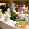 Easter baskets on display Wednesday, April 1, 2009 at Good Shepherd Medical Center. The baskets, made by emplyees, are being auctioned to raise money for Good Shepherd's Care and Share Fund. (Les Hassell/News-Journal Photo)