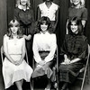 Vying for the Miss Gregg County 1981 title are, front left to right: Angie Fitzgerald of Sabine, Melinda Tate, Miss Gregg County, Rhetta Hill of Longview; standing l-r: Alisa Hawkins of White Oak, Michelle Clay of Gladewater, and Carol Green of Spring Hill. (News-Journal File Photo)
