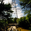 Oil derrick on Sabine River west of TX 42 Monday, June 1, 2009. (Les Hassell/News-Journal Photo)