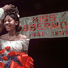 03/28/98--Delta Sigma Theta sorority presented their 1998 Miss Jabberwock, New Diana HS senior Tosha Wynette Blackmon, Saturday night in the Community Center theater. Her escort was Tyler Junior College student Damion Washington. Matula photo.