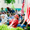 The Gregg County Memorial Day Service, on Monday May 31, 2010, at the Gregg County Courthouse. (Michael Cavazos/News-Journal Photo)