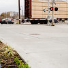 The railroad tracks and Fredonia Street on Friday December 31, 2010. (Michael Cavazos/News-Journal Photo)