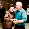 Tommy Lyons and Sue Davis take the dance floor during a celebration of the new year at the Gold Hall Community Center in Hallsville  on Friday December 31, 2010. (Michael Cavazos/News-Journal Photo)