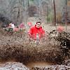 Joe Pahnka of the Texas Mud Hole Patrol celebrate the new year at Rabbit Creek in Kilgore on Friday December 31, 2010. (Michael Cavazos/News-Journal Photo)