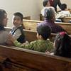 Worshipers at Vida Abudante Baptist Church Sunday, Feb. 28, 2010. (Justin Baker/News-Journal Photo)