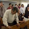 People worship at Vida Abudante Baptist Church Sunday, Feb. 28, 2010. (Justin Baker/News-Journal Photo)
