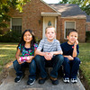 Grace, 5, Paul, 11, and Elijah, 7, at their Carthage home Thursday, September 30, 2010. (Les Hassell/News-Journal Photo)
