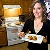 Amanda Garner in her kitchen in Kilgore Thursday, September 30, 2010. (Les Hassell/News-Journal Photo)