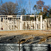 Construction of a new home on Fairway Oaks Lane on Friday December 30, 2011. (Michael Cavazos/News-Journal Photo)