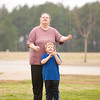 Amanda Francis and her son David, 5, fly a kite Saturday, Dec. 31, 2011 at Lear Park. (Les Hassell/News-Journal Photo)