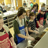 Volunteers from Alpine Church of Christ serve lunch Sunday at HiWay 80 Rescue Mission. (Justin Baker/News-Journal Photo)