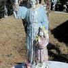 Crisman Angel made by Jeanie Folzenlogen.  (Kevin Green/News-Journal Photo)