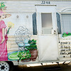 Dixie Taylor's RV the Southern Belle, on Saturday July 30, 2011, at Fernbrook RV Park. (Michael Cavazos/News-Journal Photo)