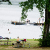 Families gather for a day of swimming at Daingerfield State Park on Thursday June 30, 2011. (Michael Cavazos/News-Journal Photo)