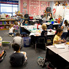 First-graders in a classrom at Spring Hill Primary Tuesday, Nov. 1, 2011. (Les Hassell/News-Journal Photo)