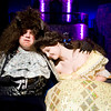 Patrick Hill, Cassity Irwin, and the Hallsville High School drama department rehearse for their upcoming performance of Beauty And The Beast, on Tuesday November 1, 2011, in the in the Hallsville High School Auditorium. (Michael Cavazos/News-Journal Photo)