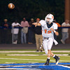 Elysian Fields's Trevor Spear passes to a receiver during Friday's Sept. 30, 2011 against Beckville. (Les Hassell/News-Journal Photo)