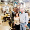 Sharon and David Cox of Eclectic Architecturals on Wednesday February 29, 2012. (Michael Cavazos/News-Journal Photo)