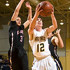 Pine Tree's Mason Hays eyes the basket during Tuesday's Jan. 3, 2012 game against Kilgore. (Les Hassell/News-Journal Photo)