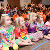 Children watch the puppet show Wednesday, June 16, 2012 at the Longview Public Library.  (Kevin Green/News-Journal Photo)
