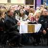 Law enforcement officials and guests listen as honorees are named at the Giants of Law Enforcement banquet Tuesday, May 15, 2012. (Les Hassell/News-Journal Photo)