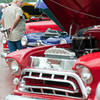 Jody Hester, of Gladewater looks at automobiles Saturday, Sept. 29, 2012 at the 2nd Annual Highway 80 Progressive Car Cruise in downtown Gladewater.  (Kevin Green/News-Journal Photo)